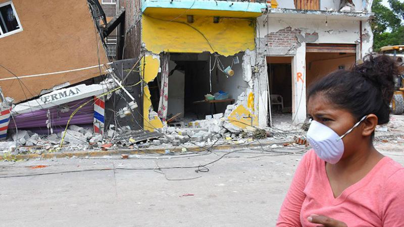 Մեքսիկայում 7,7 մագնիտուդ ուժգնությամբ երկրաշարժ է գրանցվել