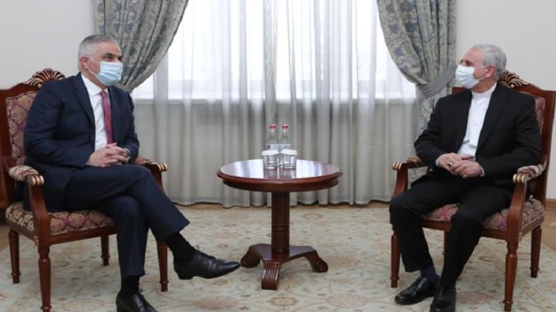 Մհեր Գրիգորյանը և ՀՀ-ում Իրանի դեսպանը քննարկել են Հայաստանի միջոցով ԵԱՏՄ շուկա Իրանի մուտք գործելու հեռանկարը