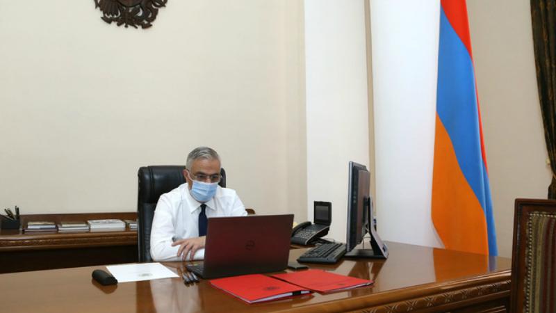 Փոխվարչապետի և Համաշխարհային բանկի պաշտոնյայի նախագահությամբ կայացել է հեռավար աշխատաժողով