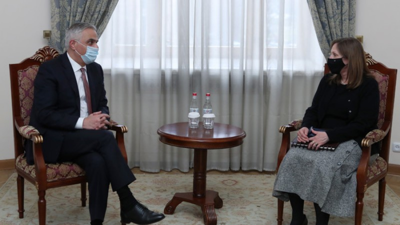 Մհեր Գրիգորյանը և ԱՄՆ դեսպանն անդրադարձել են հայ-ամերիկյան երկկողմ հարաբերությունների զարգացմանը