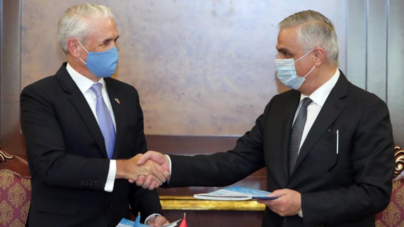 Այս համաձայնագիրը սահմանում է Հայաստանում ՄԱԿ-ի բոլոր գործակալությունների հավակնոտ և հավաքական տեսլականը. Մհեր Գրիգորյանը և Շոմբի Շարփը փաստաթուղթ են ստորագրել