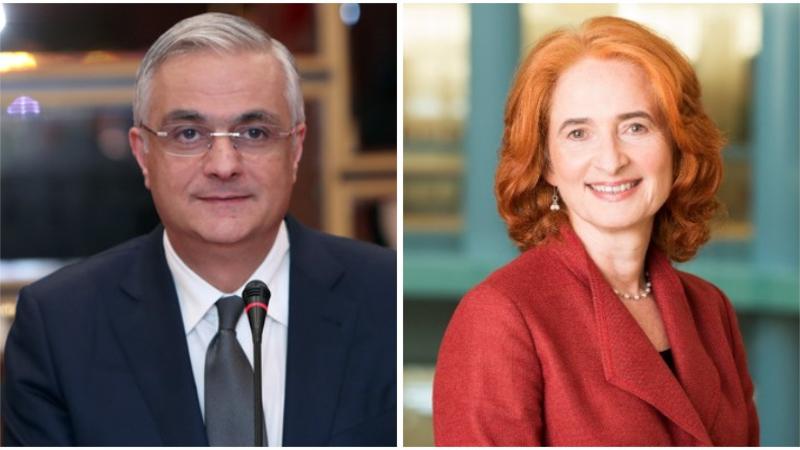 Փոխվարչապետ Գրիգորյանը և Ջորջինա Բեյքերը քննարկել են համագործակցության հեռանկարները