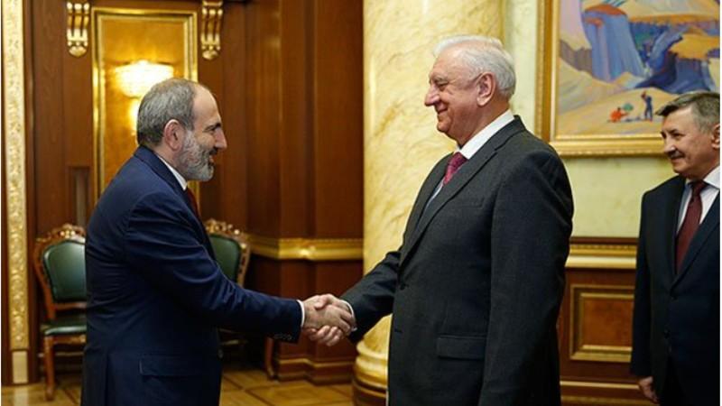 Եվրասիական տնտեսական հանձնաժողովի կոլեգիայի նախագահը շնորհավորել է Նիկոլ Փաշինյանին