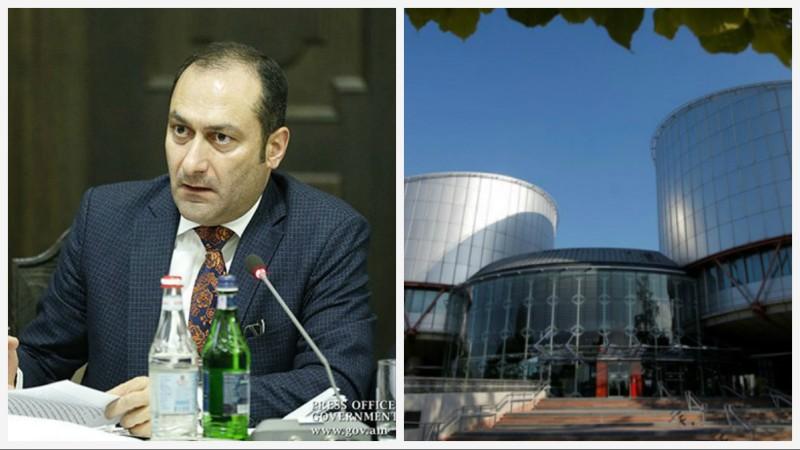 Եվրոպական դատարանը բավարարել է մեր դիմումները՝ կիրառելով հրատապ միջոց. Արտակ Զեյնալյան