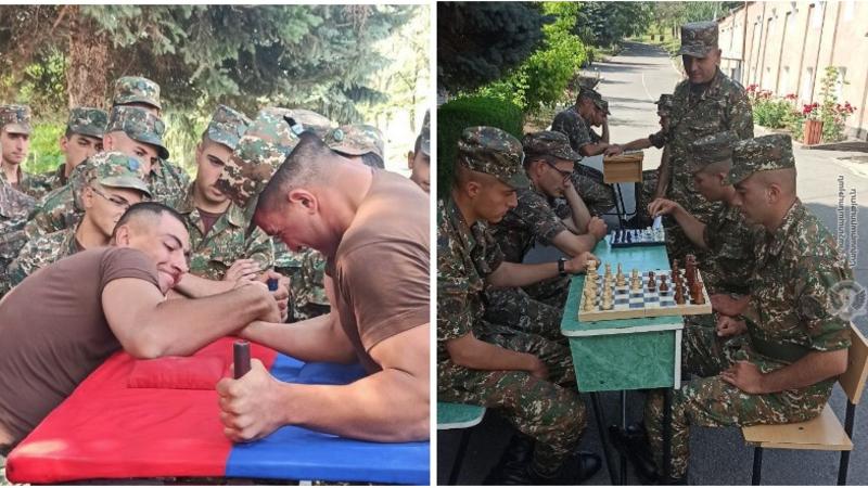 3-րդ զորամիավորման զորամասերում անցկացվել են կիրակնօրյա մրցումներ և խաղեր