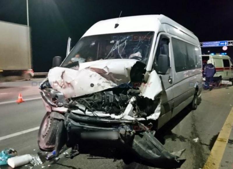 Հայաստանից Մոսկվա մեկնող միկրոավտոբուսը վթարի է ենթարկվել ՌԴ տարածքում