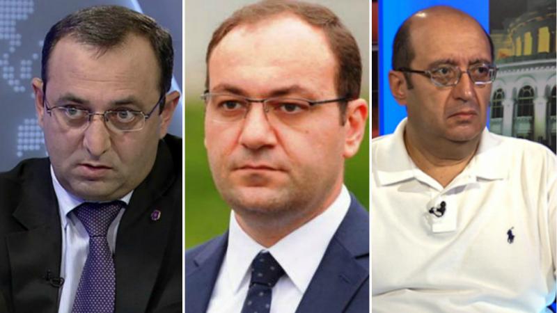 ԱԱԾ-ն բերման է ենթարկել Արծվիկ Մինասյանին, Արա Հակոբյանին ու Արսեն Բաբայանին