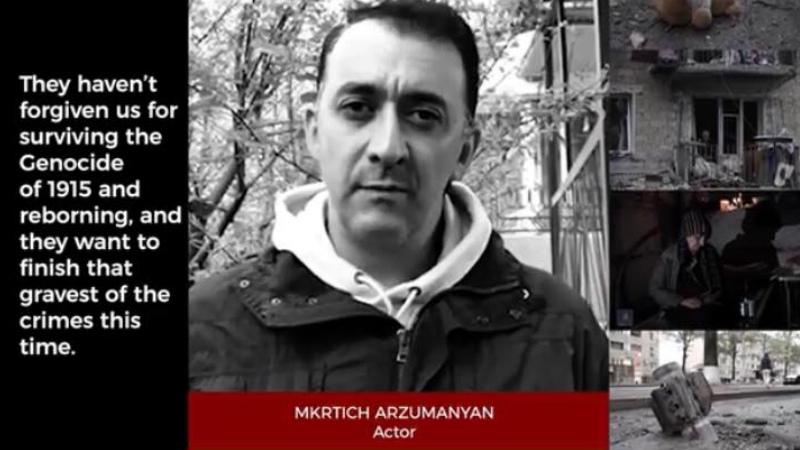 Դադարեցրեք պատերազմը. Հայաստանի ու Արցախի մշակույթի և սպորտի ներկայացուցիչները տեսաուղերձ են հղել