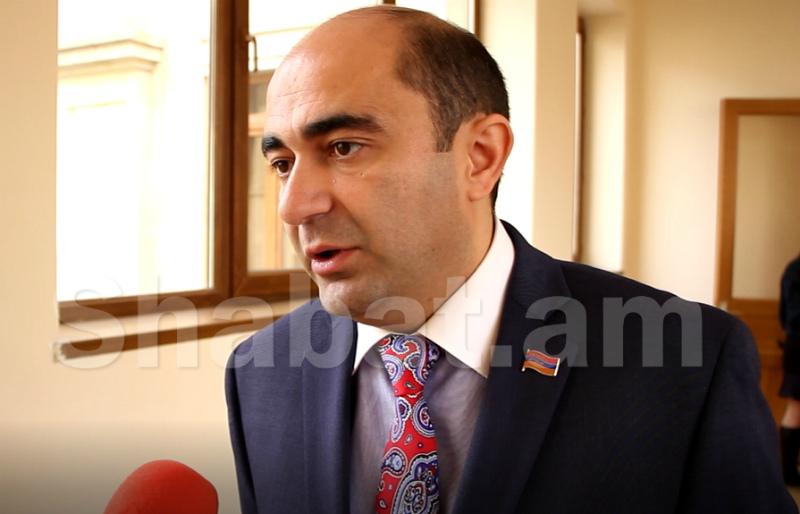 «Եթե ԲՀԿ-ն երկրորդն է, դա տագնապ է Հայաստանի Հանրապետության քաղաքացիների համար». Էդմոն Մարուքյան
