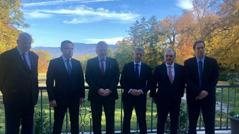 Մեկնարկեց Զոհրաբ Մնացականյանի հանդիպումը Ադրբեջանի ԱԳ նախարարի հետ