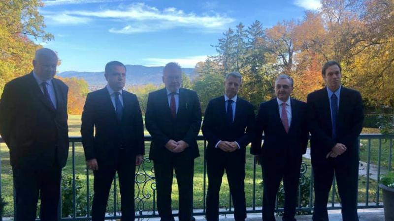 Ժնևում ավարտվել է Հայաստանի և Ադրբեջանի ԱԳ նախարարների հանդիպումը