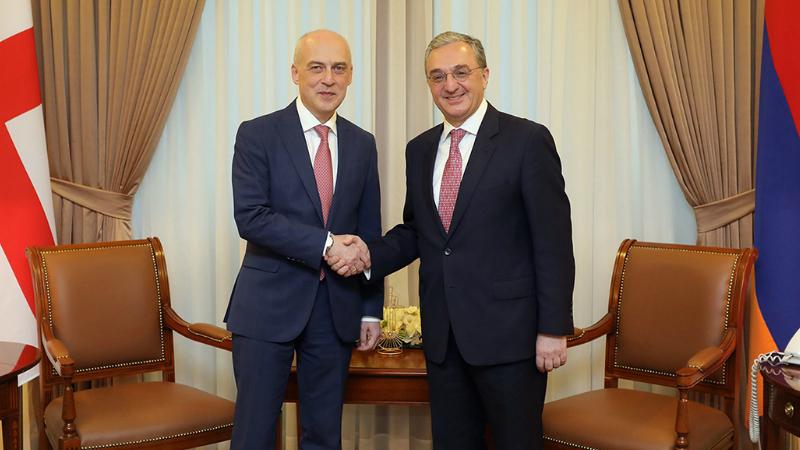 Վրաստանի արտգործնախարարը վերահաստատել է Հայաստանին աջակցություն ցուցաբերելու Վրաստանի կառավարության պատրաստակամությունը․ ԱԳՆ