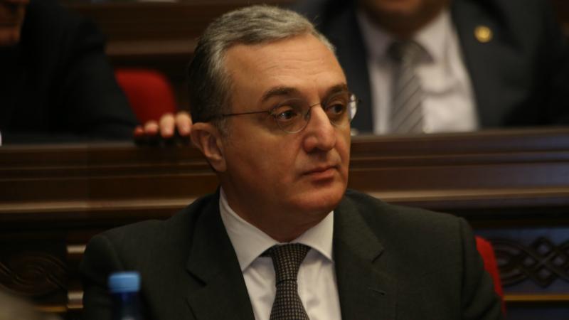 Զոհրաբ Մնացականյանը դատապարտել է Թուրքիայի կողմից տարածաշրջանային անվտանգության խաթարման փորձերը