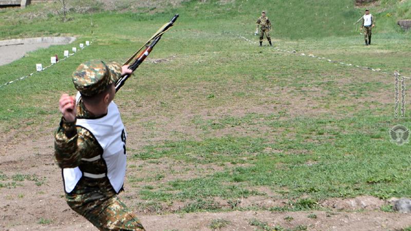 4-րդ զորամիավորումում անցկացվել է «Խաղաղության մարտիկ» մրցաձևի համաբանակային մրցույթի ընտրական փուլը