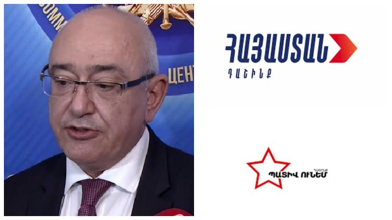 Ի՞նչ կլինի, եթե «Հայաստան» և «Պատիվ ունեմ» դաշինքները մանդատ չվերցնեն․ Մուկուչյանը պարզաբանում է