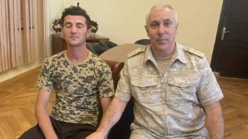Ռուստամ Մուրադովն այցելել է Արցախում կալանքի տակ գտնվող ադրբեջանցի զինծառայողին