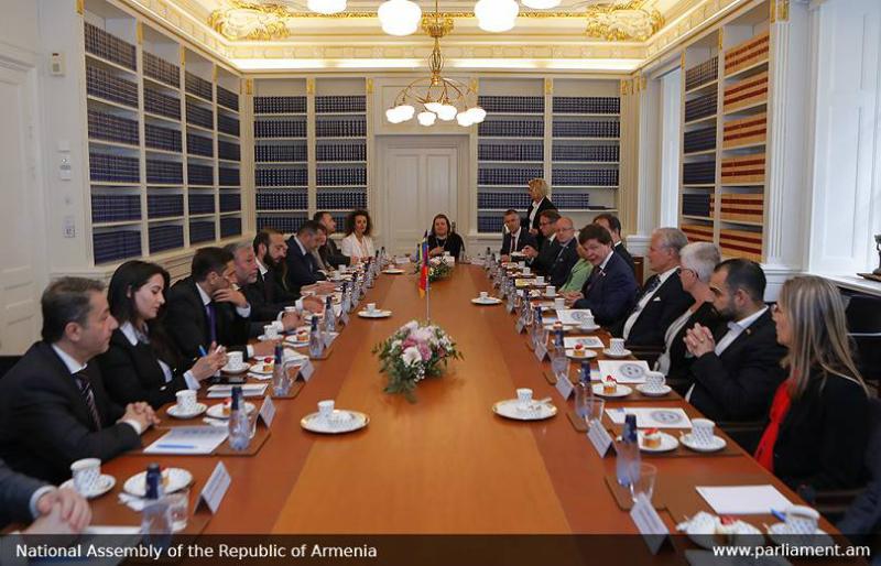 Հայաստանն ու Շվեդիան խորացնում են խորհրդարանական համագործակցությունը. ԱԺ խոսնակի հանդիպումը Շվեդիայում