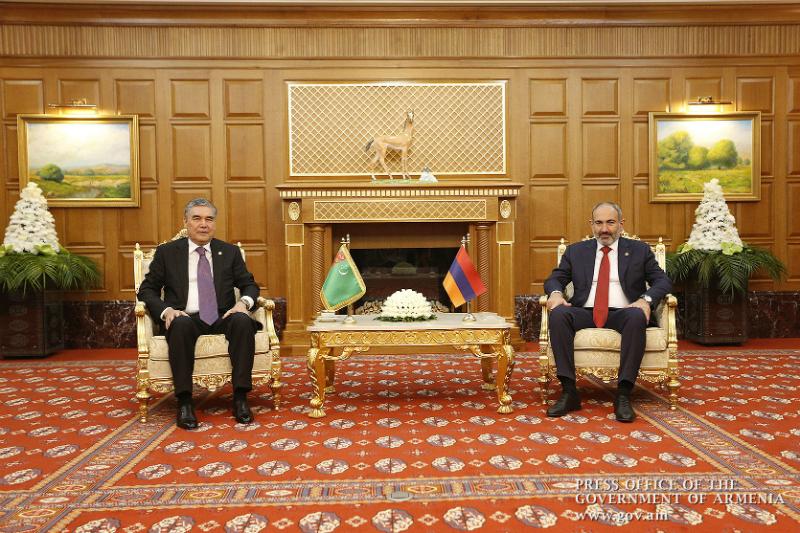 Թուրքմենստանը հետաքրքրված է Հայաստանի հետ փոխշահավետ համագործակցության ընդլայնմամբ