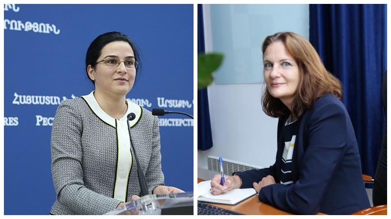 ԱԳՆ խոսնակն անդրադարձել է ՀՀ-ում UNICEF-ի ներկայացուցչի պաշտոնավարումը դադարեցնելու որոշմանը