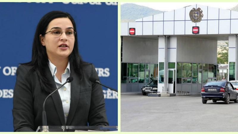Աննա Նաղդալյանը՝ Հայաստանի և Վրաստանի միջև մուտքի ընթացակարգերի դյուրացման մասին