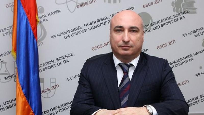 Նաիրի Հարությունյանն ազատվել է ԿԳՄՍՆ գլխավոր քարտուղարի պաշտոնից