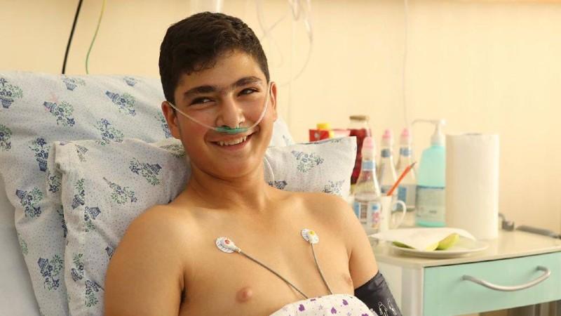 Անօդաչու թռչող սարքի հարվածից տուժած 14-ամյա Նարեկի վիճակն արդեն կայուն է. Գևորգ Դերձյան