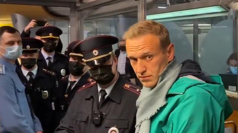 «Շերեմետևո» օդանավակայանում ձերբակալել են Ալեքսեյ Նավալնիին