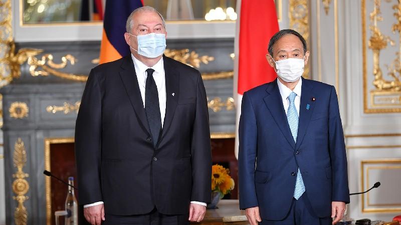 Հայաստանը շահագրգռված է Ճապոնիայի հետ հարաբերությունների ընդլայնմամբ. նախագահ  (տեսանյութ)