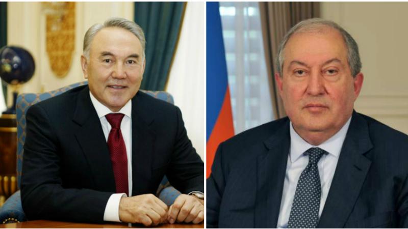 Արմեն Սարգսյանը նամակ է հղել Ղազախստանի առաջին նախագահ Նուրսուլթան Նազարբաևին, որը վարակվել է նոր կորոնավիրուսով