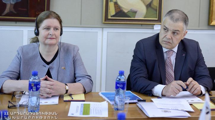 Արդարադատության նախարարը մասնակցել է Հայաստանի Արդյունահանող ճյուղերի թափանցիկության նախաձեռնության բազմաշահառու խմբի նիստին