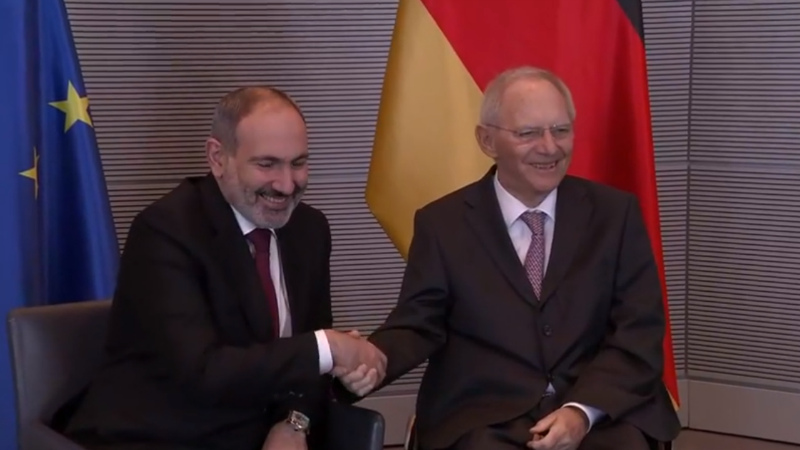 Առաջին հանդիպումը Բունդեսթագի նախագահի հետ է. վարչապետ
