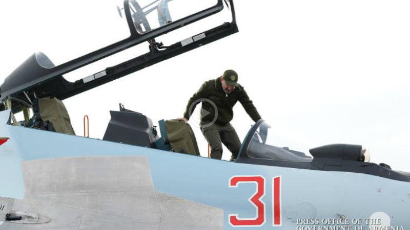 Վարչապետն իր էջում կիսվել է հայ օդաչուների ՍՈՒ 30 կործանիչներով թռիչքների մասին պատմող տեսանյութով