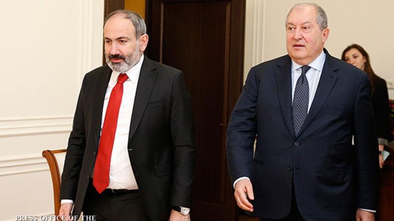 Արմեն Սարգսյանը հեռախոսազրույց է ունեցել վարչապետ Նիկոլ Փաշինյանի հետ