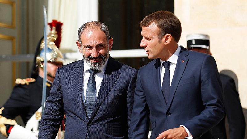 Հայաստանն իր անկեղծ երախտագիտությունն է հայտնում բարեկամ Ֆրանսիային․ Փաշինյանի ուղերձը Մակրոնին