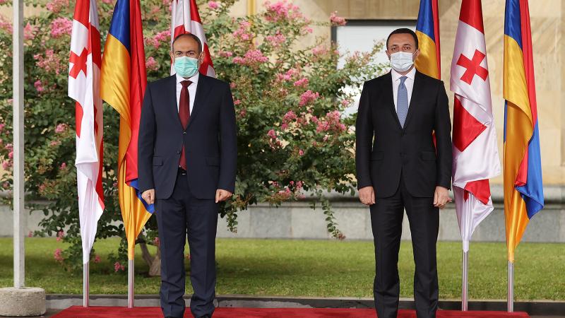 Հայաստանի և Վրաստանի կառավարությունների միջև արդյունավետ համագործակցություն է հաստատվել. Նիկոլ Փաշինյանը հանդիպել է Իրակլի Ղարիբաշվիլիին
