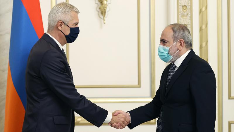 Սլովակիան գնահատում է տարածաշրջանում խաղաղության հաստատմանը միտված Հայաստանի ջանքերը․ Սլովակիայի ԱԳ նախարարը՝ Նիկոլ Փաշինյանին