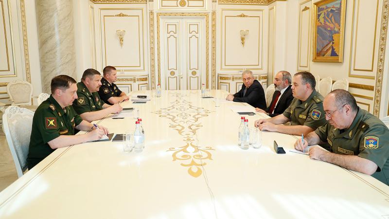Նիկոլ Փաշինյանն ընդունել է ՌԴ ԶՈՒ ԳՇ պետի տեղակալ Սերգեյ Իստրակովին. քննարկվել է հայ-ադրբեջանական սահմանին ստեղծված իրավիճակը