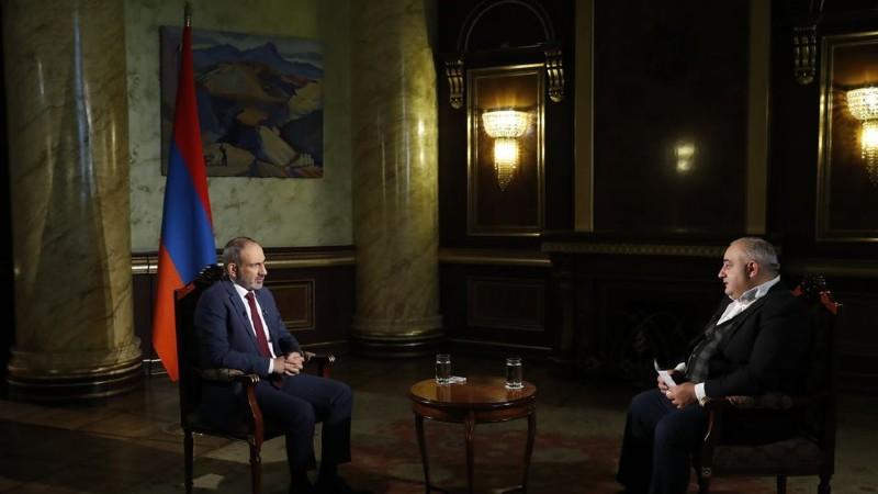 Նիկոլ Փաշինյանը հարցազրույց է տվել Հանրային հեռուստաընկերությանը