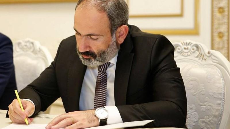 Վարչապետ Նիկոլ Փաշինյանը փոխմարզպետ է նշանակել