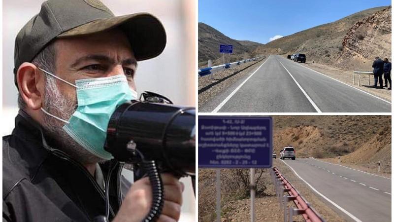 Զառիթափ-Նոր Ազնաբերդ-Նախիջևանի սահման 14 կիլոմետրանոց ճանապարհը հիմնովին վերակառուցվել է․ վարչապետ