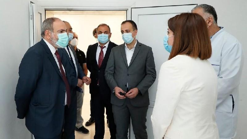 Նիկոլ Փաշինյանն այցելել է Աբովյանի «Դատաբժշկական գիտագործնական կենտրոն»