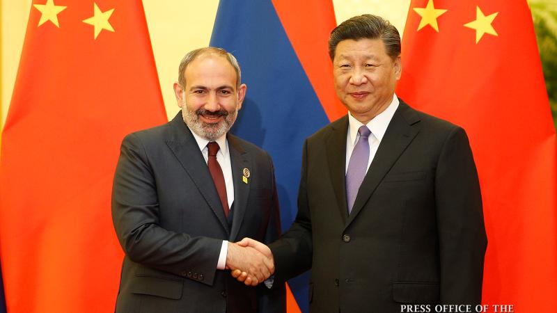 Չինաստանն իր նպաստն է բերում համաշխարհային զարգացման օրակարգում և հանդիսանում է Հայաստանի առաջնային գործընկերներից մեկը. Նիկոլ Փաշինյանը՝ Սի Ծինփինին