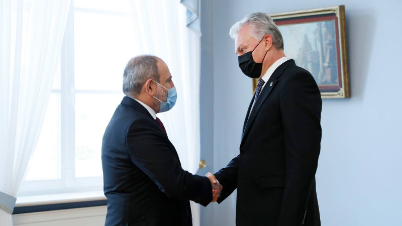 Ավարտվել է վարչապետ Նիկոլ Փաշինյանի այցը Լիտվայի Հանրապետություն