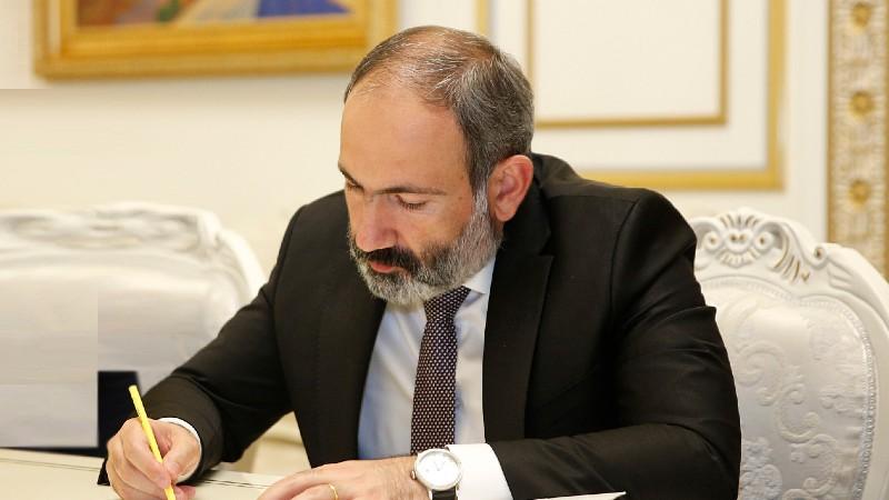 Վարչապետ Նիկոլ Փաշինյանը նոր որոշում է ստորագրել