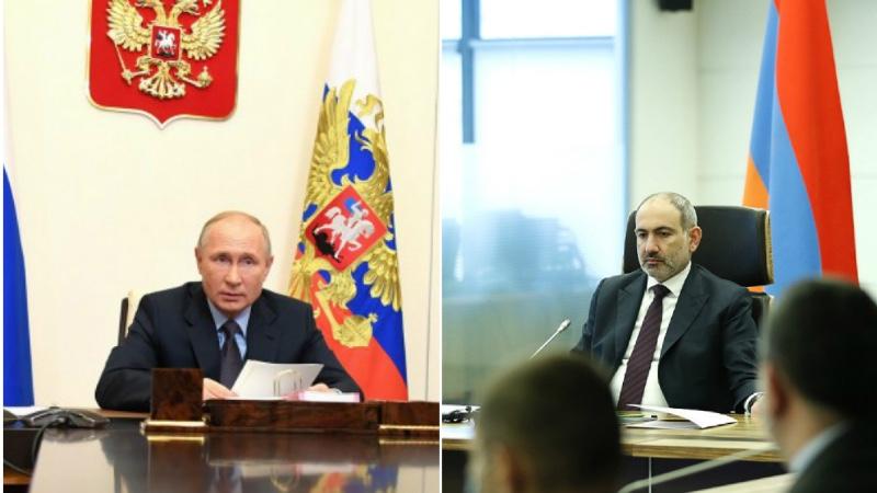 Մեր հիմնական խնդիրն է, որ այս փուլում սատարենք և անձամբ Հայաստանի վարչապետին, և նրա թիմին. Պուտին