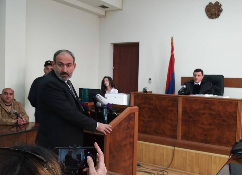 Վարչապետը  ցուցմունք է տալիս դատարանում