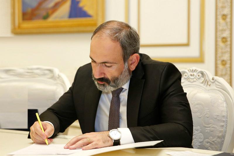Նիկոլ Փաշինյանն աշխատանքից ազատել է Տիգրան Քալանթարյանին