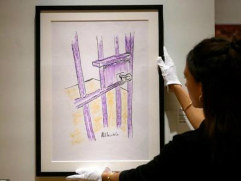 Նելսոն Մանդելայի նկարը Նյու Յորքում վաճառվել է 112575 դոլարով