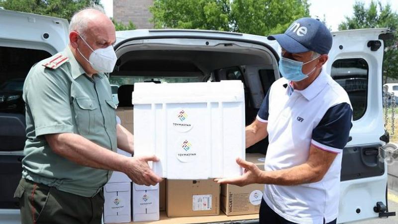 ՀՀ զինված ուժերին նվիրաբերվել են նմուշառման պարագաներ, որոնք փոխանցվել են ՀՀ ԶՈւ ռազմաբժշկական ծառայությանը