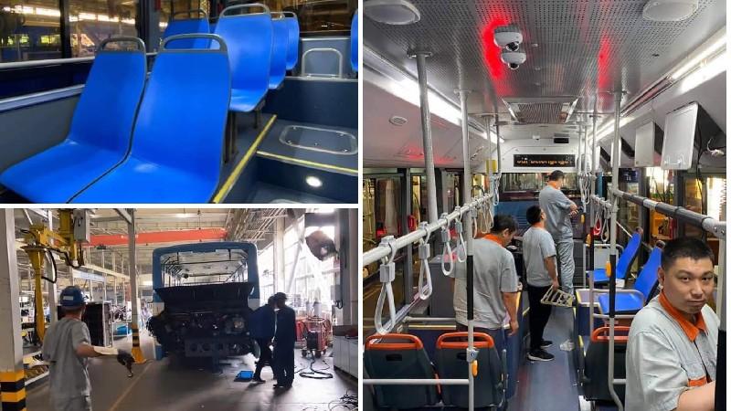 Նոր ավտոբուսները մայրաքաղաքում կլինեն այս տարվա աշնանը. (լուսանկարներ)